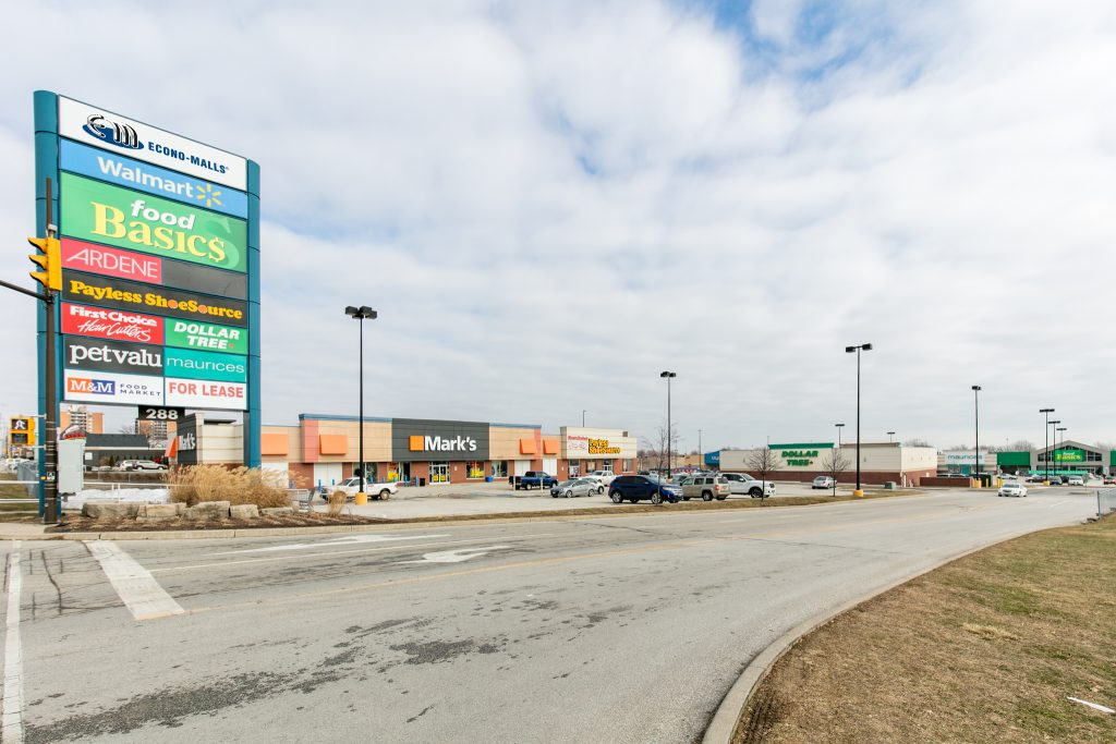Leamington Walmart Centre Leasing Opportunity