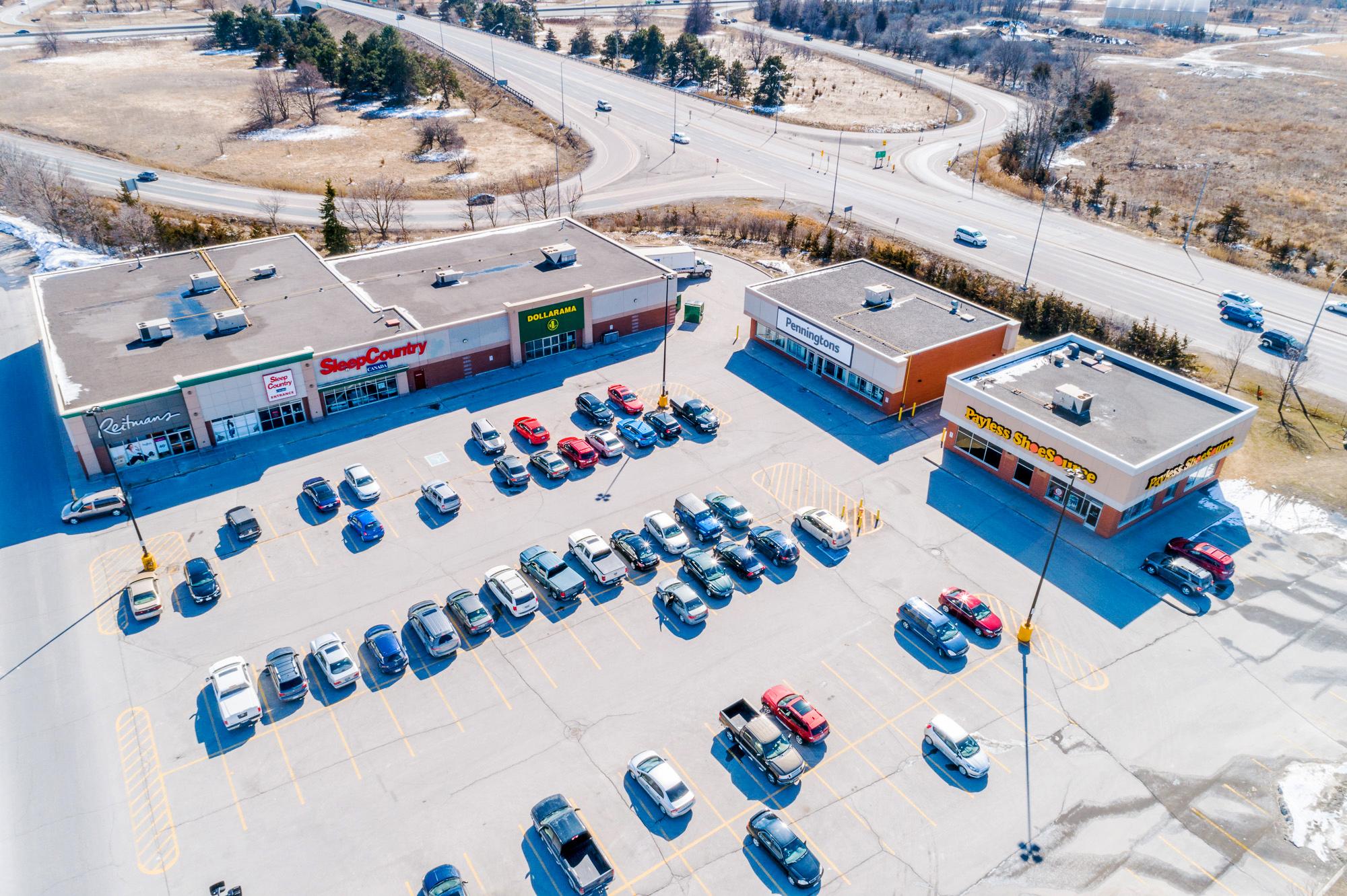 Belleville Walmart Centre Leasing Opportunity